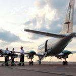 Перемещение больного в самолет
